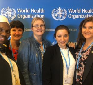 THEnet at the 72nd World Health Assembly